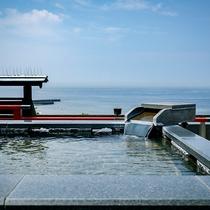 ■絶景貸切露天風呂「天上の湯」