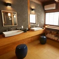 ■大浴場脱衣所