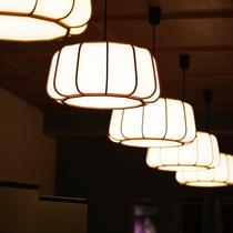 ■館内のイメージ(ロビー照明)