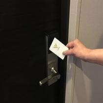 タッチ式カードキー