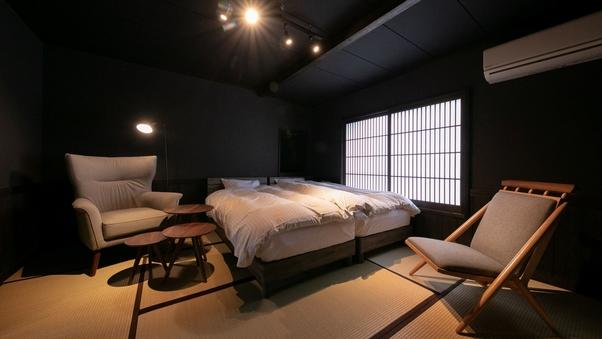 【New】和室8畳ハリウッドツイン -65インチテレビ-