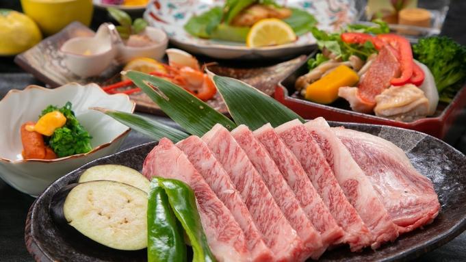 【個室食】A5ランク豊後牛サーロインステーキたっぷり×温泉地獄蒸し
