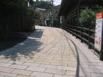別府鉄輪(かんなわ)の石畳