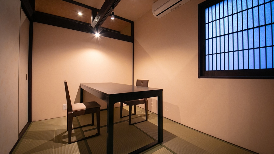 【食事処】個室。2019年6月リニューアル