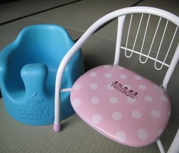 お子様用パイプ椅子、バンボチェア