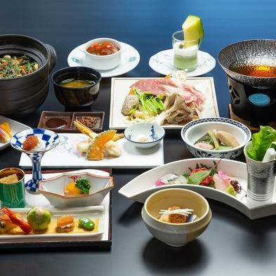 【夕食はレストラン(基本料理)】≪露天風呂付客室≫をお得に楽しむ割安プラン