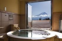 スイートルーム 富士山側風呂