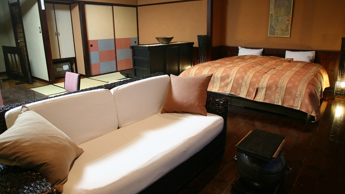 【楽天限定】素泊まりでも貸切風呂無料など特典付♪雰囲気ある和洋室に宿泊♪