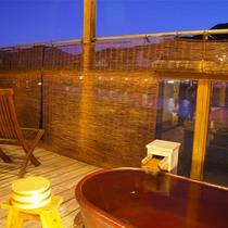 露天風呂付き客室【四季彩】一例