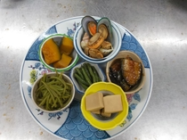 皿鉢(精進料理風)