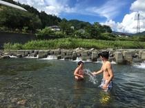 (夏)川遊び