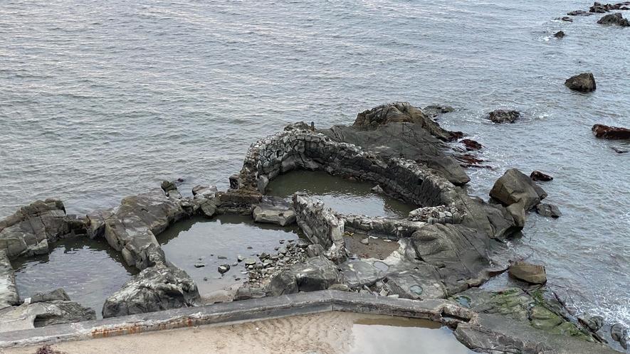 海岸いけす跡