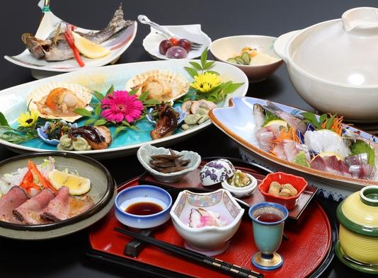地魚お刺身とお肉のプラン お部屋食
