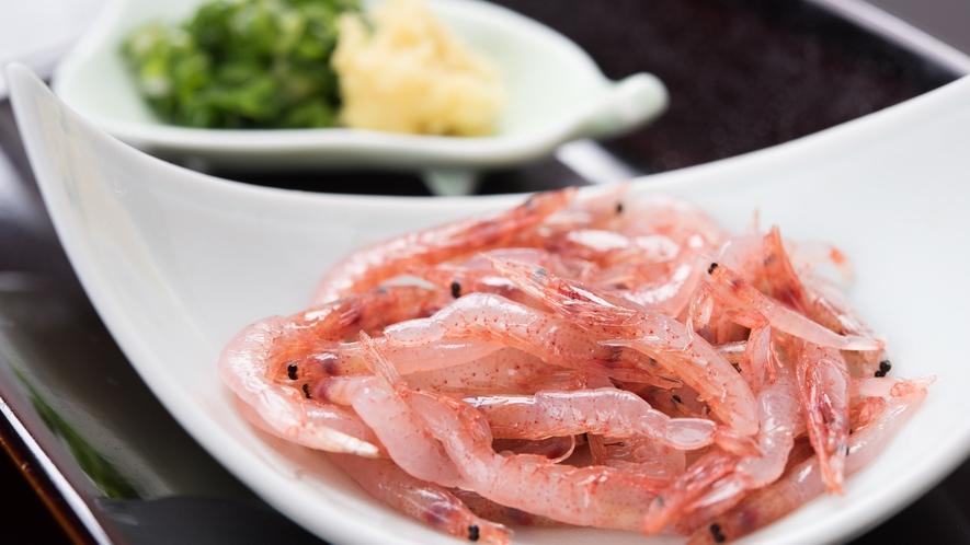 **【夕食】桜えび会席/生桜海老を別皿でご提供します