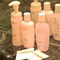 大浴場のアメニティ…化粧水・整髪料などのアメニティを大浴場でご用意しています
