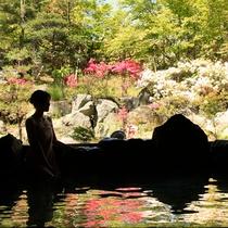 大浴場『神嘗の湯』…日中から夜は男性用、深夜から朝は女性用となり、入れ替えがあります