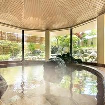 大浴場『湯の舞の湯』…日中から夜は女性用、深夜から朝は男性用となり、入れ替えがあります