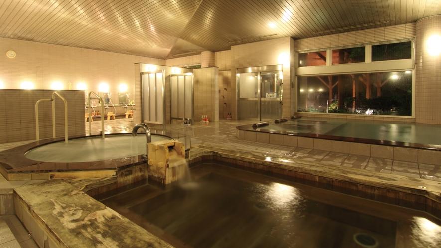 檜風呂・ジャグジー・室内大浴場 4:30〜1:00営業