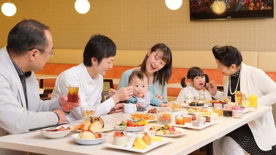 NASUバイキング 『エルバージュ』:三世代でお食事♪