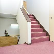 【館内一例】階段(客室は1~3F)