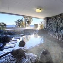 海底温泉「お魚風呂」露天4