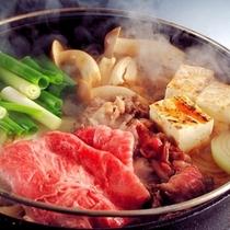 【料理一例】信州牛すき焼き