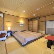 【山吹彩】お部屋には絶妙の高さの和風ローベッド