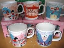 白雪姫クリスマスマグカップ
