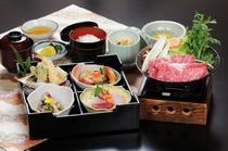 別館で食す☆すきやき風牛鍋御膳☆(すき焼き牛鍋津みやび)