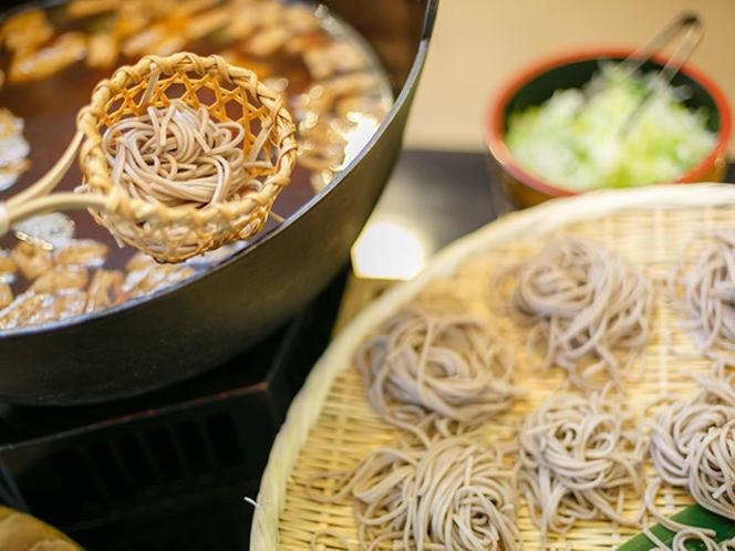 信州奈川の名物とうじ蕎麦