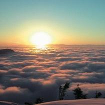 横手山山頂から見る雲海 2307mの世界へ 満天ビューテラス