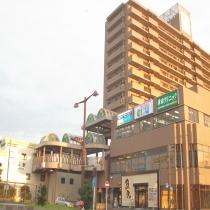 近鉄「久居駅」西口の風景