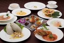 中国料理 寒山拾得コース一例