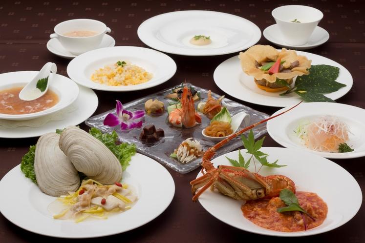 中国料理 寒山拾得 コース一例