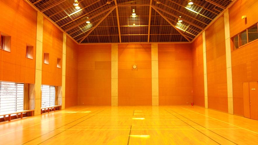 館内直結の体育館(活動室)