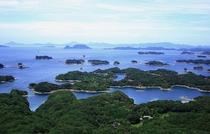 西海国立公園に指定されている九十九島