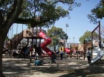 市内の中心部にある公園【佐世保公園】