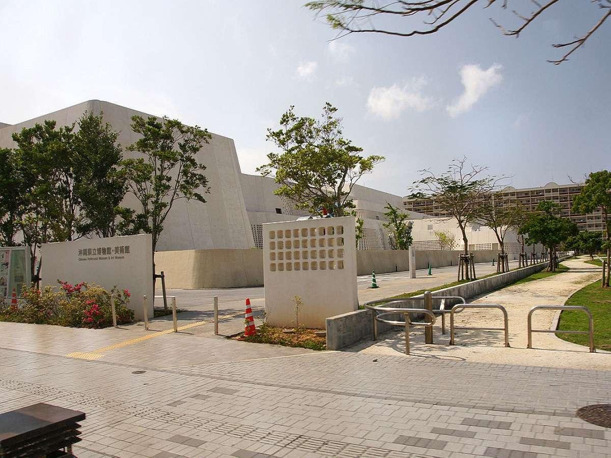 沖縄県立博物館へは・・・徒歩3分 ※那覇の中心地で芸術見学♪