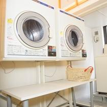 2階 ランドリールーム 洗濯機¥200 乾燥機¥100 洗剤¥50