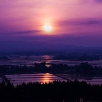 【夕焼け】素敵な一時をお過ごしください。