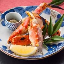 【焼きタラバ】夕食+2品の一例