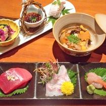 【のどぐろ会席】炙り寿司、お造りなど、様々な調理法で高級魚「のどぐろ」をご堪能いただけます