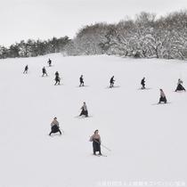 【レルヒ祭】一本杖スキー披露!毎年1月下旬に2日間開催されます♪