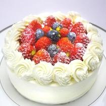 ケーキ(有料/3日前までの要予約)