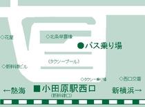 小田原駅バス停