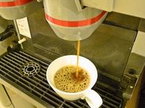 食後は本格的ドリップコーヒーをどうぞ!
