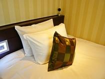 枕はソフトとハードの2種類があります♪