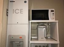 5F 製氷機 電子レンジ ポット