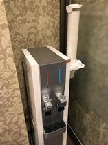 2F 女性大浴場 脱衣室 給水機