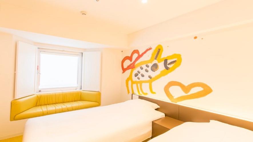609号室 ツインルーム